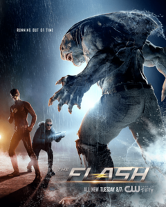 The Flash season 3 poster - Running Out of Time