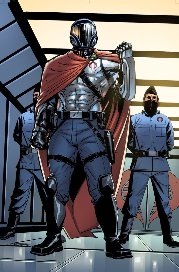 Cobra Commander Krake