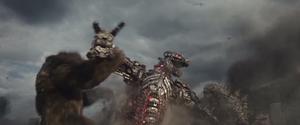 GvK Kong and Godzilla against Mechagodzilla