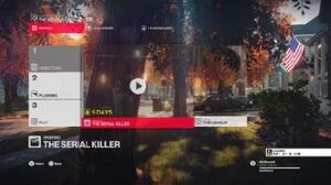 Hitman 2 - The Serial Killer Briefing