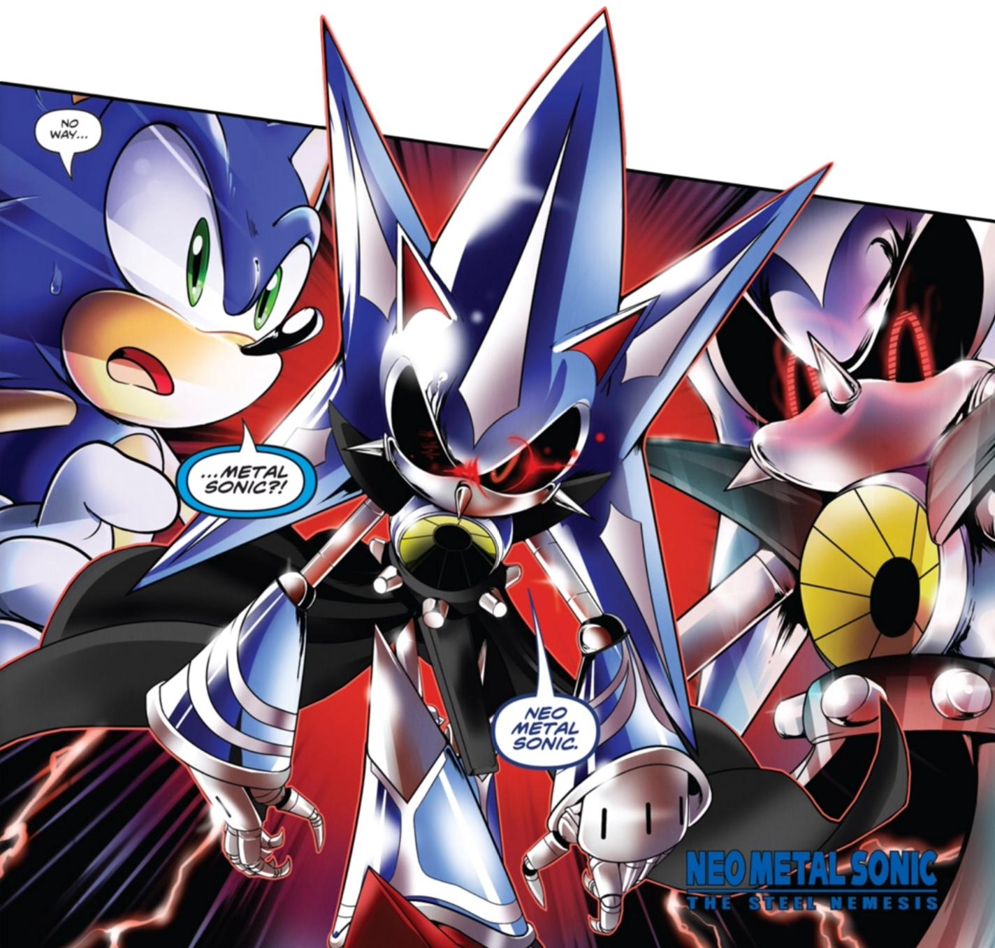 RustedRusher4455/Pure Evil Removal Proposal: Metal Sonic from Sonic the Hedgehog IDW comics