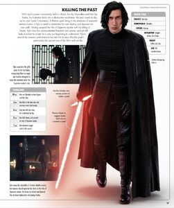 Kylo Ren - Rise of Skywalker Visual Dictionary