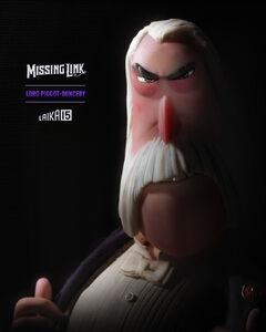 Lord Piggot-Dunceby in disLAIKAbles