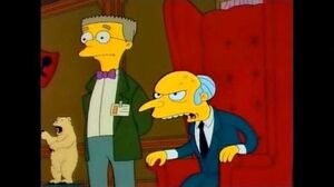 Mr Burns & Smithers - Look at all Those Idiots *music video*