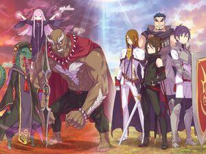 ReZero Ex Volume 2 greatest of the Demi-Human War Illustration