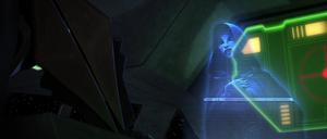 Ventress cloaked hologram