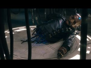 Davros without chair