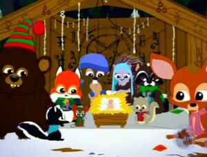 The Anti-Christ & the Woodland Critters