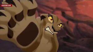 The Lion King 2 Simba's Pride Zira scratches Kovu Scene HD Quality
