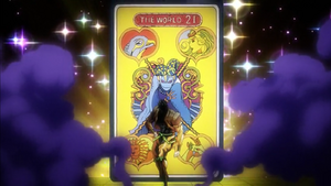 The World card