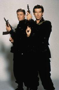 Bond and Trevelyan