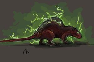 Electric rat by benjaminkanderson-d5g1omt