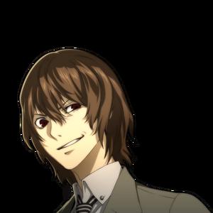 Goro-evil smile