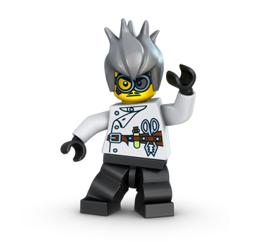 Crazy Scientist (Monster Fighters)