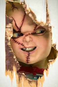 Another one of Chucky's evil grin