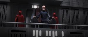 Chancellor Palpatine monitoring