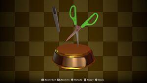 Scissors Trophy
