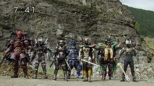 Super Sentai Adversaries in Zyuohger