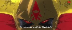 The Ultraman Jackal Evil Stare
