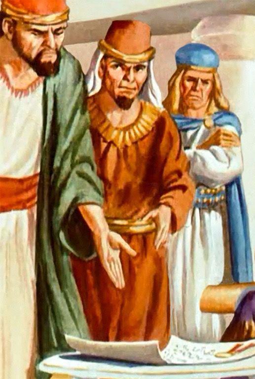 King Darius' Advisors