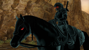 Dark Link Riding Dark Epona