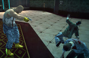 Dead rising Ted with handgun (2)