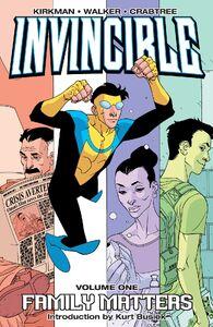 Invincible v1 cover
