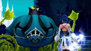 Kingdom Hearts Birth By Sleep Cursed Coach Boss Fight (PS3 1080p)