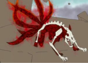 Naruto's Six-Tailed Form