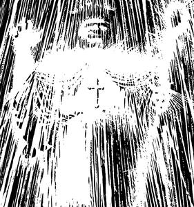 Statue of Cardinal Roark