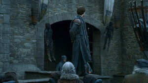 Theon Burned bodies