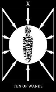 Pattern Screamer Tarot