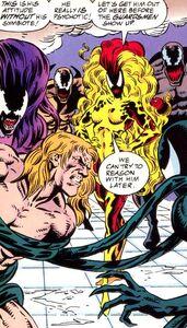 The Five Symbiotes capture Eddie - Venom Separation Anxiety