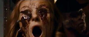 Freddy killing Nancy's mom