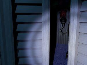 Nightmare Foxy Closet 3