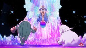 Togemon & Ikkakumon vs Eosmon