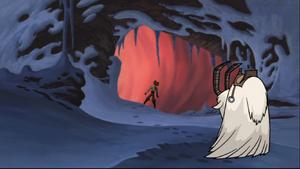 Anakin cave entrance