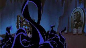 Batman Beyond Inque discovers the Batcave