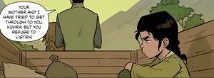 Young Kuvira being sent to Zaofu