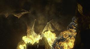 Dragonkingfireinahouse