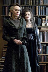 Narcissa and Bellatrix