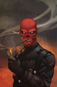 Red Skull Art