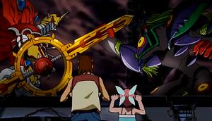 ShineGreymon vs Mega Argomon