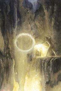 Alan Lee - The Forging of the Ring