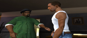 Big Smoke talking to CJ