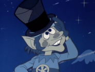 Jack Frost wearing the wrong hat
