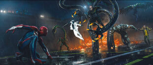 Sinister Six from MSM concept art