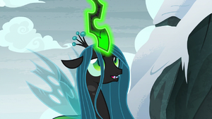 Chrysalis relieved to have magic back S9E8