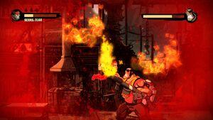 Inferno Using Flamethrower 6