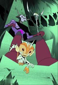 Skeleton King with Skelemandarin